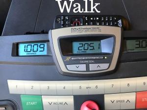 Walk treadmill
