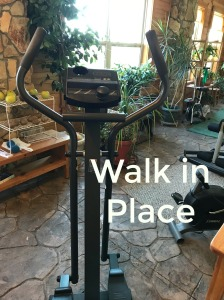 Walk in place